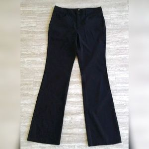 DKNY High Waist Boot Cut Trouser Pants Career 10